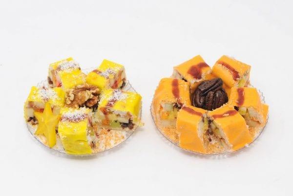 12 יחידות סושי פירות